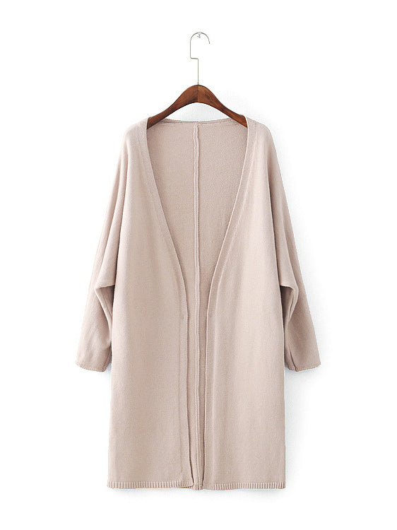 Easy Goes It Long Sleeve Cashmere Cardigan