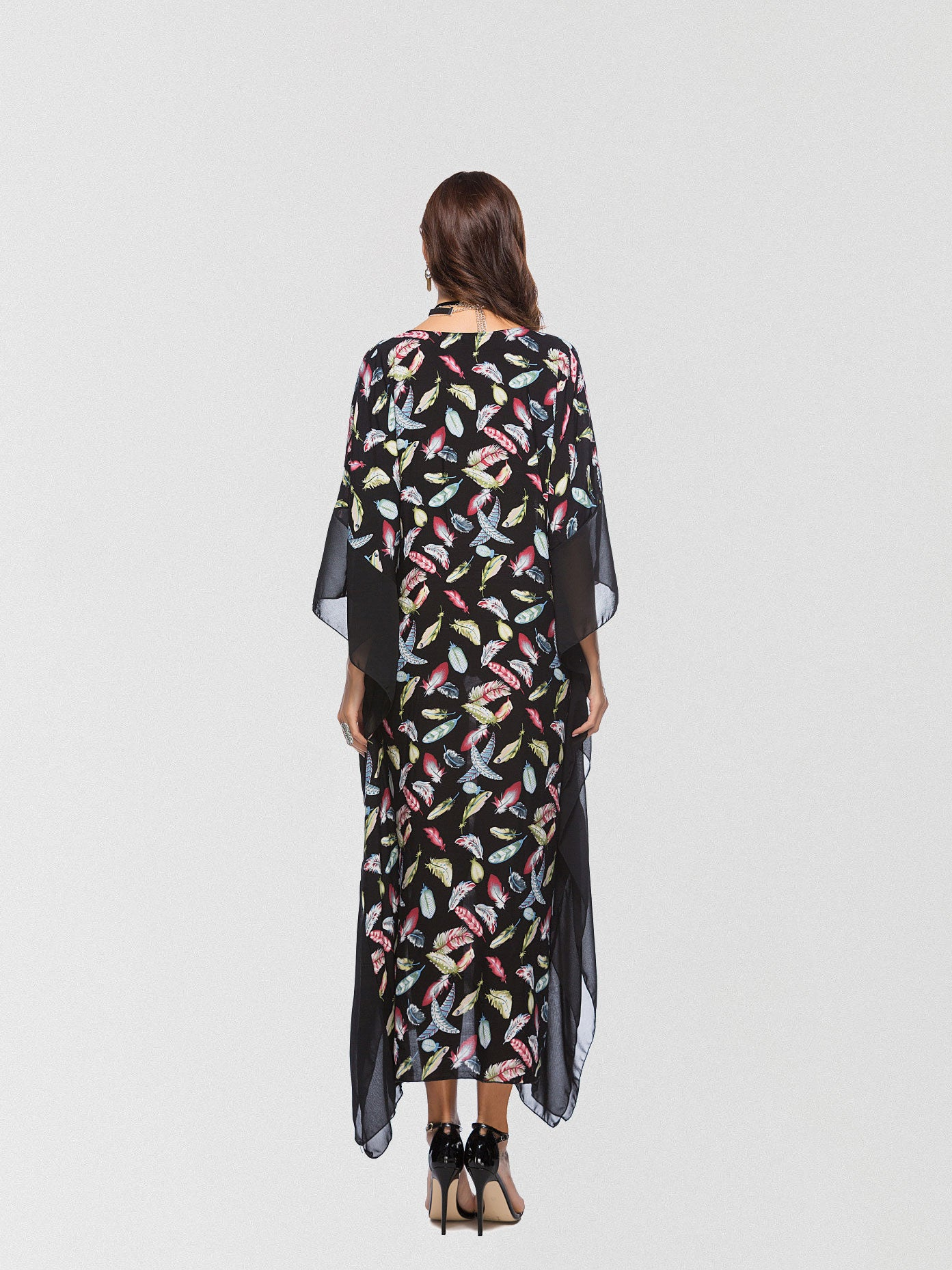 Talk To Me Printed Maxi Dress
