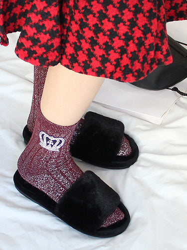 High On Life Knitted Ankle Socks