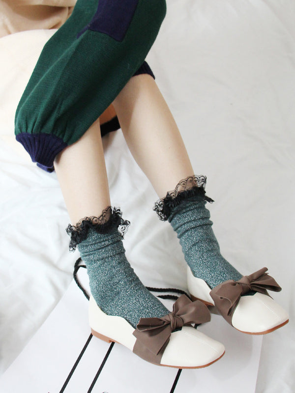 Clementine Knitted Ankle Socks