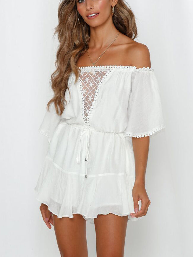 All You Need Off-The-Shoulder Romper