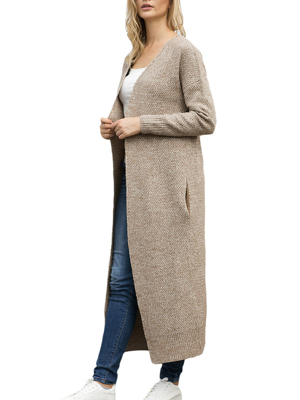 Cecelia Ribbed Knit Open Front Cardigan