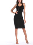 Dana Sleeveless Knitted Bodycon Dress