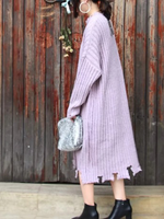 Dixie Chunky Knit Maxi Sweater Dress