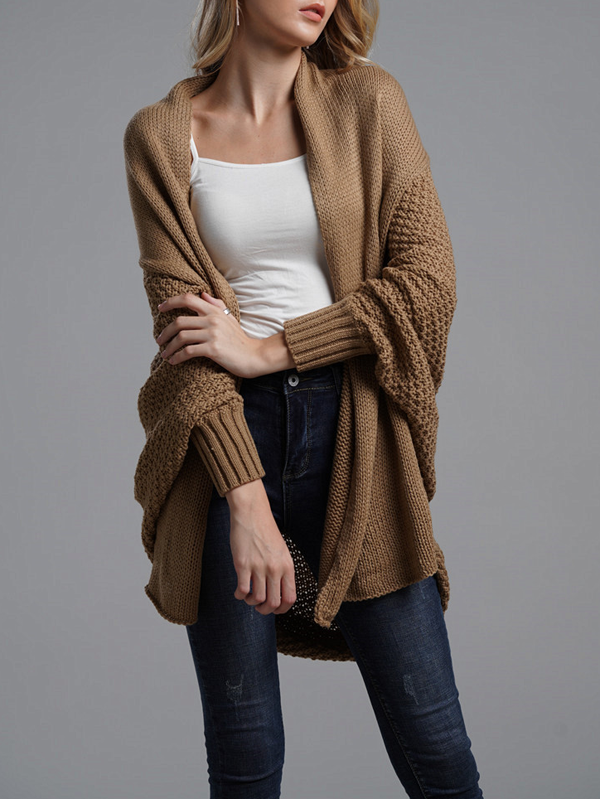 Donna Chunky Knit Slouchy Cardigan