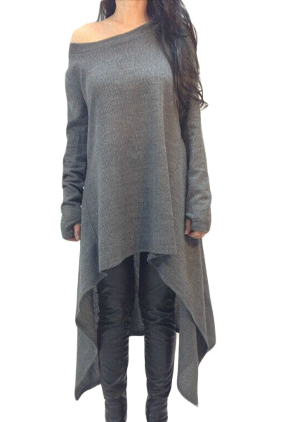 Easy Track Slash Neck Tunic