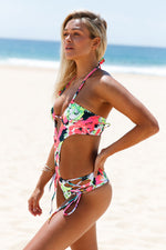 The Bloomy Stuff Strappy Crisscross Cut out Monokini