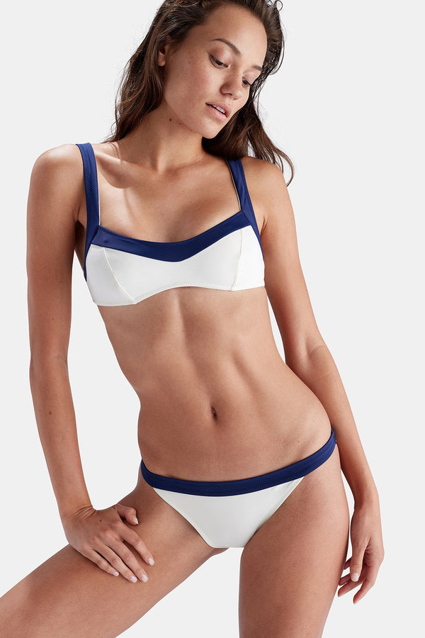 Simply Striped Two-Piece Swimsuit