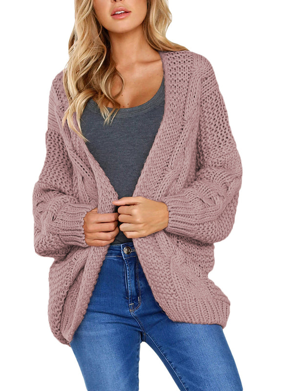 Lorene Cable Knit Chunky Cardigan