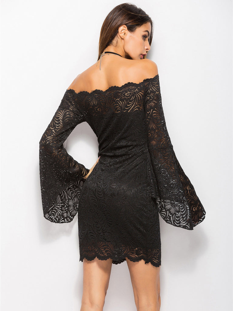 Love Like This Off The Shoulder Lace Dress Inxcy