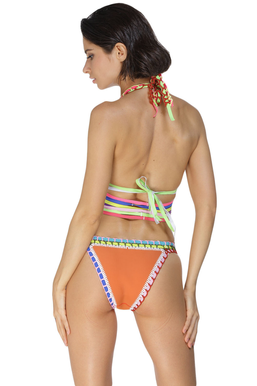 Something Old School Strappy Two-Piece Swimsuit