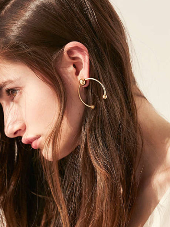 New You Hoop Earrings