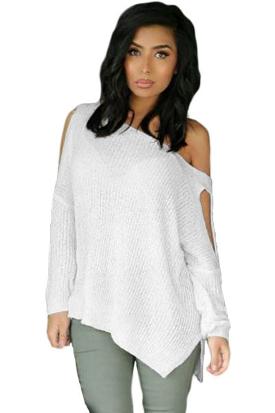 One Step Closer Slit-Sleeve Pullover