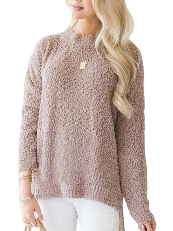 Patti Oversize High-Low Pullover Sweater