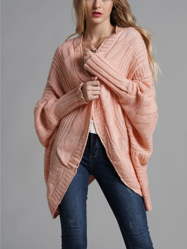 Slouchy Weekend Knitted Sweater Cardi