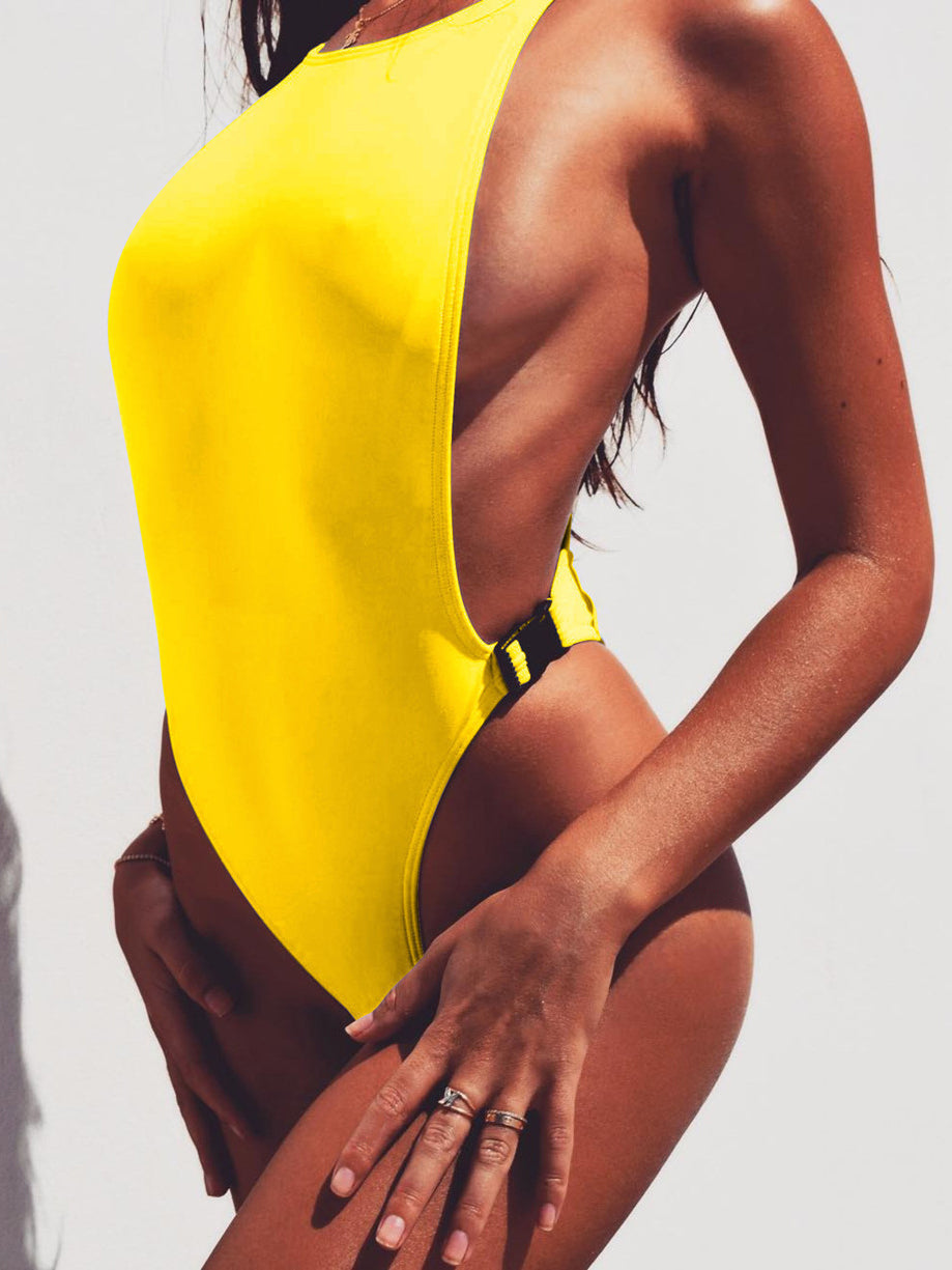 The Getaway Solid One-Piece Bikini