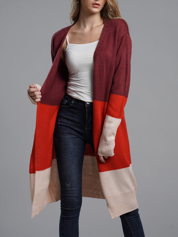 The Wanderer Color Block Cardigan