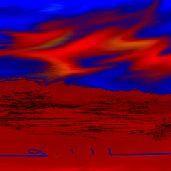 Desert Sky - Greeting Card - GallaherGallery.com