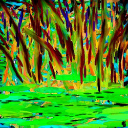Duck Pond - Greeting Card - GallaherGallery.com