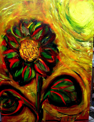 March Sunflower - Greeting Card - GallaherGallery.com