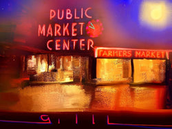 Pike Place Market - Greeting Card - GallaherGallery.com
