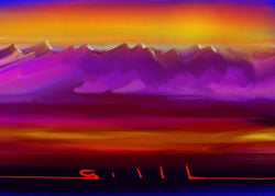 Purple Hills - GallaherGallery.com