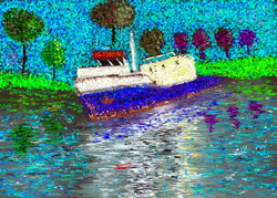 Tug Boat - Greeting Card - GallaherGallery.com