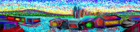 Bright Panaroma - Greeting Card - GallaherGallery.com