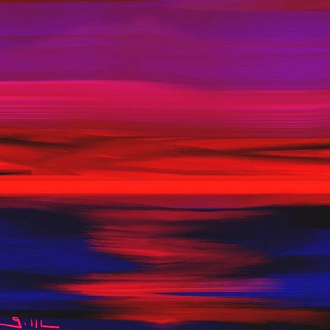Fire Sky - Greeting Card - GallaherGallery.com
