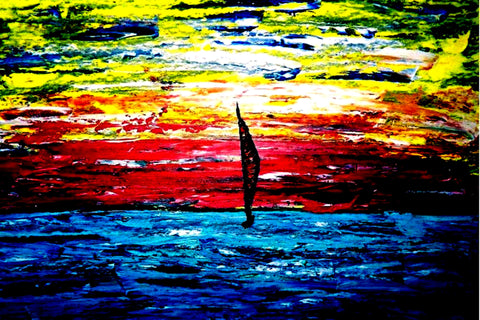 Lonely Sail - GallaherGallery.com