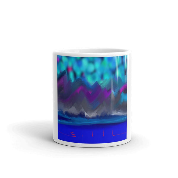 Acid Mountains - Mug - GallaherGallery.com