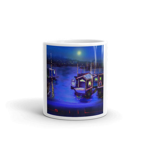 Christmas Lights - Mug - GallaherGallery.com
