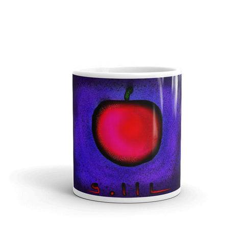Apple and Blue Sky - Mug - GallaherGallery.com