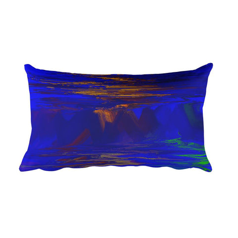 ChromaSky - Rectangular Pillow - GallaherGallery.com