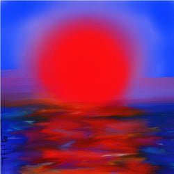 Red Sunset - GallaherGallery.com