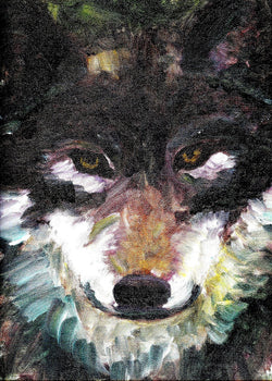 Wolf - Greeting Card - GallaherGallery.com
