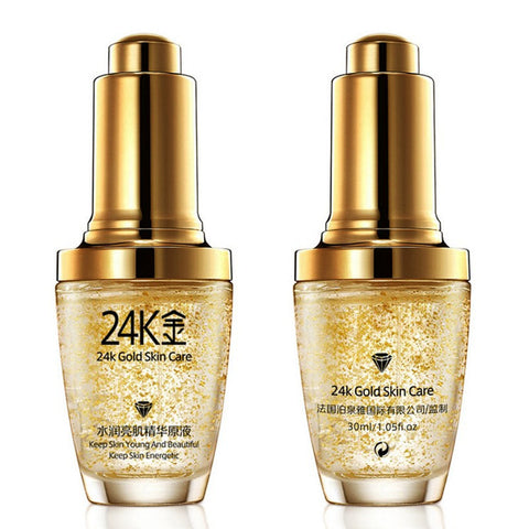 LAMONTE 24K GOLD ESSENCE COLLAGEN SERUM Pure Anti-Wrinkle Anti-Aging Whitening Moisturizing