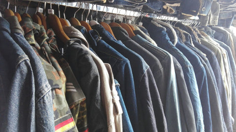 Denim Jackets Mixed Colours / Mixed Sizes