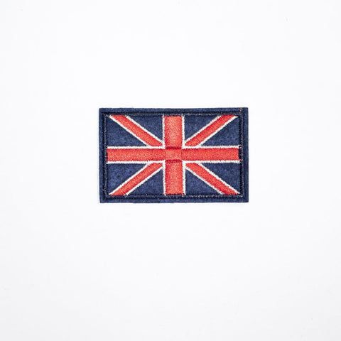 PC2077 - Blue Normal Union Jack (Iron On)