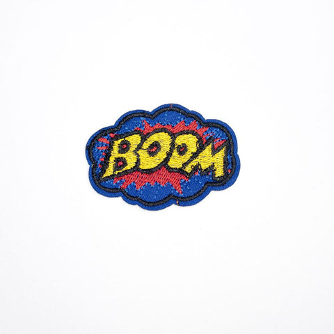 PC2144 - Boom Text Effect!  (Iron On)