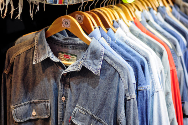 Denim Shirts Mixed Colours / Mixed Sizes