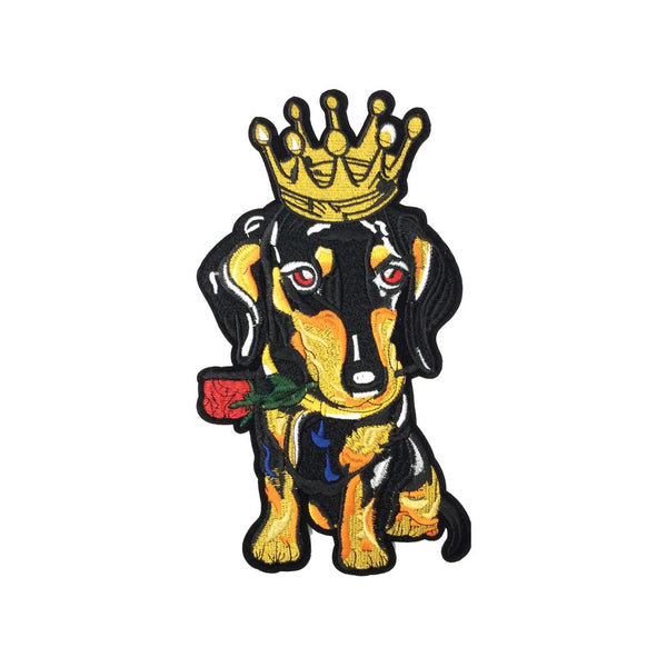 Pc3468 Gold Crown Rose Dog Iron On Patches Koo Style Wholesale Koo Style Wholesale Download this cartoon gold crown, crown clipart, cartoon, halo png clipart image with transparent background or psd file for free. koo style wholesale