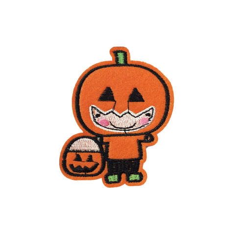 PC3915 - Trick Or Treat Halloween Pumpkin Boy (Iron On)