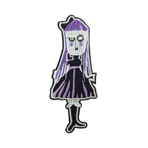 PC3212 - Purple Spooky Lady (Iron On)