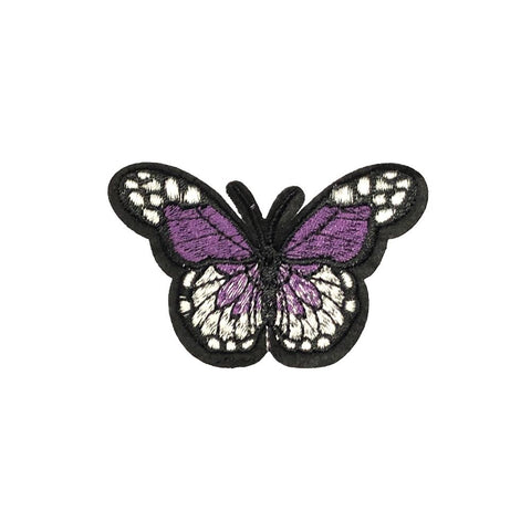 PC2418M - Purple Geo Pattern Butterfly (Iron On)
