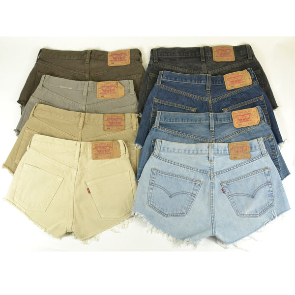 Levi's | Lee | Wrangler Shorts Unisex Mixed Colours / Mixed Sizes / Mixed Brand