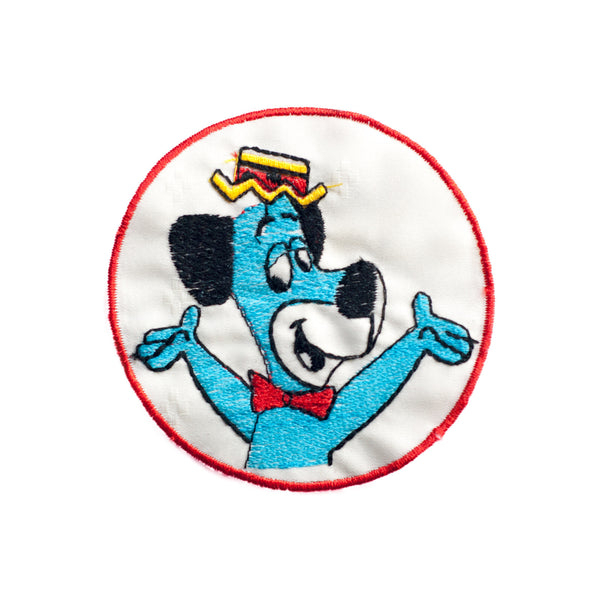 PT304 - Blue dog cartoon (Sew on)