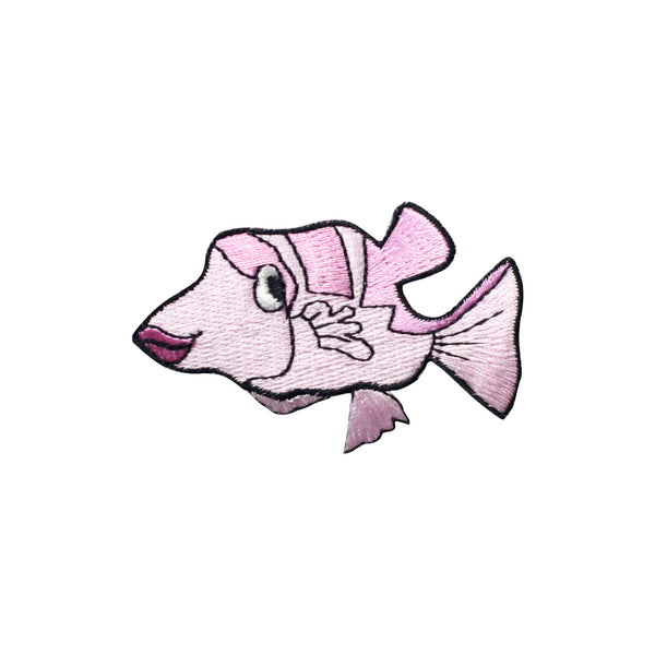 PT347 - Pink fish (Iron on)