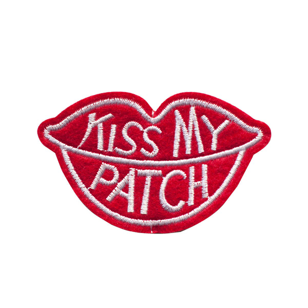 PT386 - Kiss my Patch (Iron on)