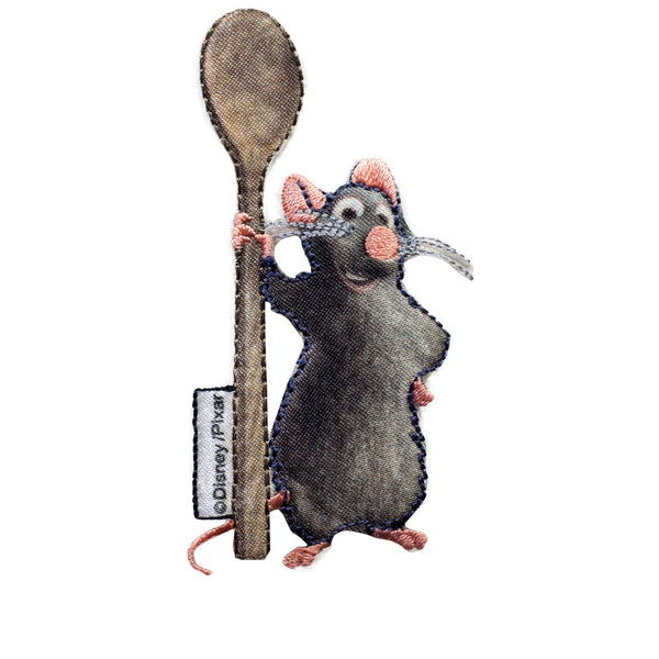 PT391 - Rat Chief w Spoon (Iron on)